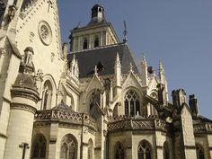 église de Beaufort en Vallée. Pays-de-la-Loire