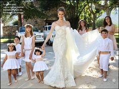 Manualidades creativas: Vestidos para pajes de boda, Teresa & Leticia