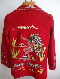 1 950'S Lopez Mexican Embroidered Jacket I had one when I was little