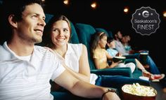 Awesome Groupon for Saskatoon - $7 for Movie for Two with One Large Popcorn at Rainbow Cinemas (Up to $14 Value) in Saskatoon (The Centre Mall). Groupon deal price: $7.00
