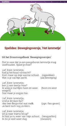 Bewegingsversje Het lammetje  www.droomvogel.nl