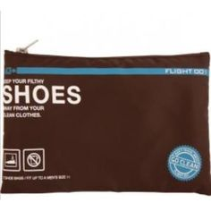 Flight 001 Shoe Bag (Apparel)  http://www.amazon.com/dp/B005QDPFOC/?tag=oretoretanku-20  B005QDPFOC