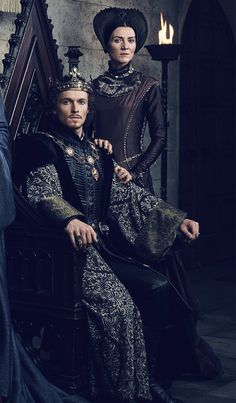 Jacob Collins-Levy (Henry VII) and Michelle Fairley (Margaret Beaufort) in The White Princess The White Princess, White Queen, Fantasy Inspiration, Character Inspiration, Michelle Fairley, Wars Of The Roses, Medieval Costume, Fantasy Costumes, Period Costumes