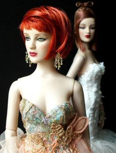 About Antoinettes: Hypnotic in the forefront with her sideswept hair. Basic GM Antoinette in the background.