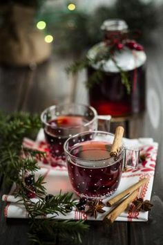 Italian-style Hot, Spiced Wine: A warming, festive winter drink: Vin brûlé - Italian-style mulled wine