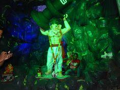 bahubali ganesh idol ,placed in shree pragati bal ganesh utsav mandal nagpur