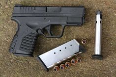 Springfield Armory XDs compact .45 for conceal carry