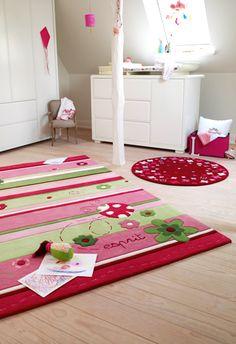 Wovenground | Kids Rugs | Lady Bird Rugs £389 170 x 240cm