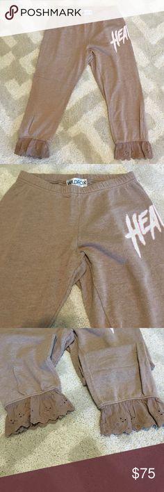 Wildfox Heaven Pants Gently worn Wildfox Heaven pants Wildfox Pants Capris