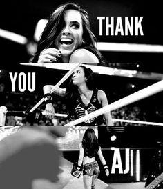 AJ Lee #thankuaj                                                                                                                                                                                 More