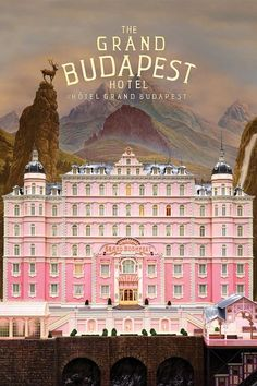 """""""Are you Monsieur Gustave of the Grand Budapest Hotel in Nebelsbad?"""" - Monk [The Grand Budapest Hotel, 2014] Two hours of the most wonderful art exhibition. Top of my list visually. Period."""