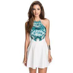 N-Gal-Women-Hot-Mini-Dresses, Womens-Wear, Dresses-Short-Dress - NY80110