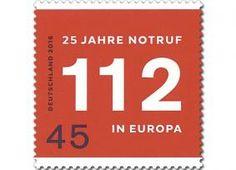 Deutsche Post: 25 Jahre Europa-Notruf 112
