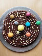 Le gâteau du système solaire