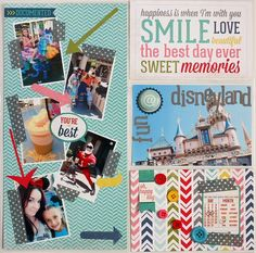 #papercraft #scrapbook #layout  6X12 Vol. 1 collection Photo Freedom layout. #echoparkpaper