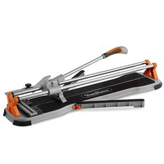VonHaus 24 Inch Manual Tile Cutter with Tungsten Carbide Cutting Wheel, Anti-sliding Rubber Surface, 1x Spare Scoring Wheel - Suitable for Porcelain and Ceramic Floor and Ceiling Tiles >>> Check this awesome product by going to the link at the image. (This is an affiliate link) Cork Tiles, Vinyl Tiles, Porcelain Ceramics, Porcelain Tile, Basement Remodeling, Remodeling Contractors, Rip Cut, Tile Cutter, Tile Saw