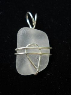 Beach Glass Jewelry Seaglass Pendant Smile by BeachGlassBaubles, $20.00