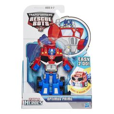 Transformers Rescue Bots - Blades, Boulder, Chase and Optimus Hasbro Transformers, Transformers Optimus Prime, Kids Toys For Christmas, Optimus Prime Toy, Toy Model Cars, Easy Origami For Kids, Rescue Bots, Lego For Kids, Star Wars Party