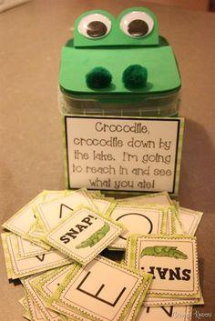Crocodile Snap! Alphabet Game for Kids