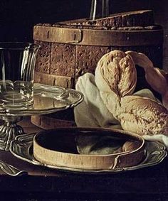 Luis Eugenio Meléndez - Detail of Still Life. The Snack - Fine Arts Reproduction
