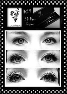 Three steps, three minutes. That's it. Younique's 3D Mascara will give you the lashes you never knew you had!   www.youniqueproducts.com/jjbland