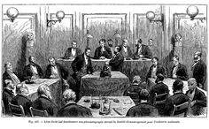 Edouard-Léon Scott de Martinville fait fonctionner son phonautographe devant la Société d'encouragement pour l'industrie nationale.