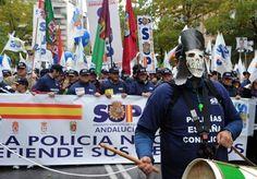 Spanien demonstriert gegen sparkurs