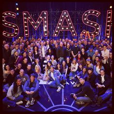 Our wonderful #Smash cast and crew!