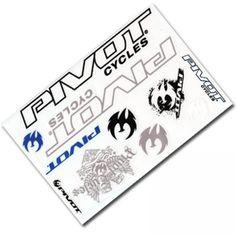Pivot Cycles Sticker Sheet