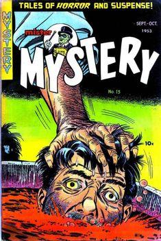 Comic Book Cover For Mister Mystery v1 #13