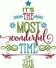 Silhouette Design Store - View Design #70882: most wonderful time - word tree