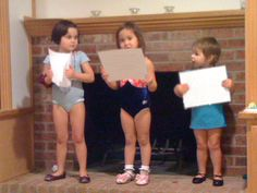 Day 5: Something you are reading, making, seeing...These three little ones have the most amazing imaginations & I get to watch them everyday as they go from ballerinas to musicians, mommies, to princesses...