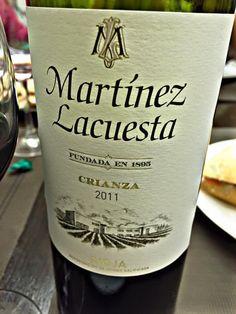 El Alma del Vino.: Bodegas Martínez Lacuesta Crianza 2011.
