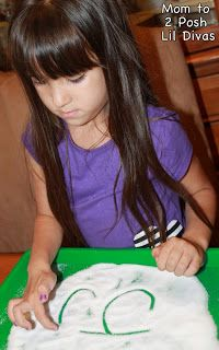 Sugar/Salt Writing plus 14 other FUN & hands-on ways to practice writing with kids