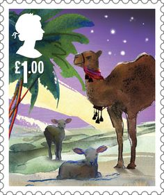 Image result for british christmas stamps 2015