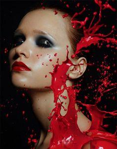 by Alexandra Leroy [red splash]