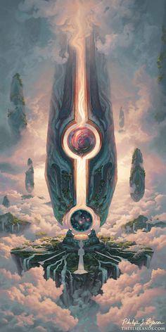 Pillars of Elysium by PhilByers on DeviantArt