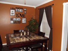 Burnt Orange Kitchen kitchen valance for orange walls | burnt orange kitchen curtains
