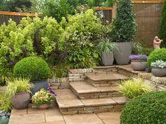Creating a  Mediterranean Garden: Multi Level Garden