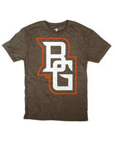 Classic Bowling Green logo on a heather brown shirt. #BGSU whereimfrom.com has awesome, nice quality t-shirts and other apparel!