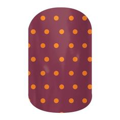 Pomegranate Pop by Jamberry Nail Wraps. Filled with classic lines and fun polka dots, the Dotted Line collection is perfect to wear with our bolder wraps or wear on their own. Appropriate for any setting, these wraps are an essential part of any nail lover's collection. Lasts up to 2 weeks on fingernails and 4 weeks on toenails.