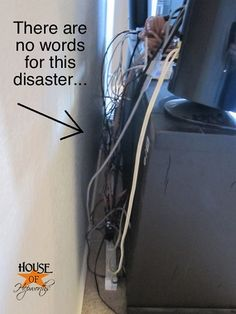 i do this all the time i hate wires i like everything clean home rh pinterest com