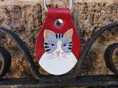 key fob from leatherarts.etsy.com