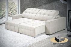 Sofá retratil reclinavel - terrazza