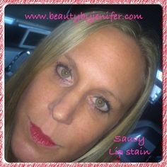 Long lasting, smudge-proof, kissable, Lipstain from Younique! #lipstain #naturalmakeup www.beautybyjenifer.com