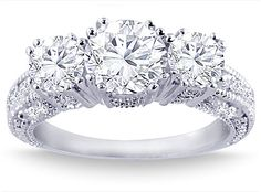 2.05+Carat+Round+Cut+Diamond+Engagement+Ring
