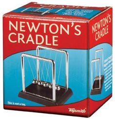 Newton's Cradle. Still a favorite.