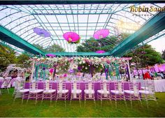 """Weddingz.in on Instagram: """"All things purple and pretty is this reception set up!😍 Photo: @robinsainiphotography #weddingz #weddings #indianweddings #weddingceremony #weddingdecoration #ceremony #decoration #decorationideas #idea #inspiration #weddinginspiration #lovecouple #loveweddings #photographyideas #photography #photographygoals #purple #prettydecorations #pretty #instaphoto #instaidea #instadecoration #instawedding #instaawesome #instalike #instalove #instaidea"""""""