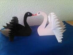Делаем лебедя - Поделки с детьми   Деткиподелки