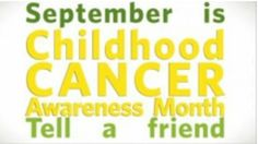 September is Childhood Cancer Awareness Month ~on CouponCrazyFreebieFanatic.com on 9.5.2014 I updated the information in this post. Please Share to help Raise Awareness. ~Jaime!